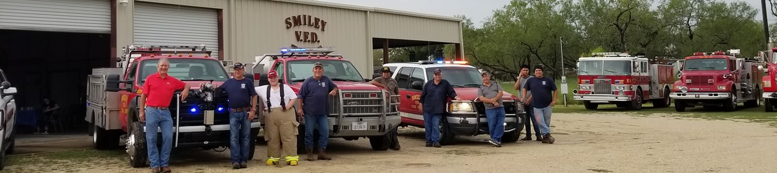 Smiley Texas volunteer fire department